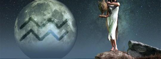 Σελήνη στον Υδροχόο
